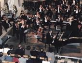 Iglesia Sant Esteve, Vila-seca. Triple concierto de Beethoven. Intérpretes  junto a Cecilio Tieles, Evelio Tieles, violín; Peter Thiemann, violoncelo y  la Orquesta Sinfónica del Vallès, bajo la dirección de Salvador Brotons.