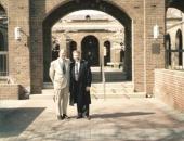 Cecilio Tieles y Efrain Paesky en Washington.