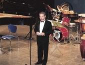 TeatreFortuny, Reus.  Presentación del Homenaje a Joan Guinjoan, 1998.