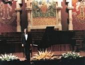 Palau de la Música, Barcelona,1998. En el 50 Aniversario de la Academia  Santa Cecilia, directora Núria Viladrich.
