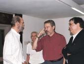 Harold Gramatges, Xiomara Suárez, Cecilio Tieles, Joan Tortajada. 1998.