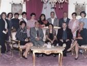 Participantes y miembros del Jurado del II Festival y Encuentro Latinoamericano para profesores y alumnos. Cochabamba, Bolivia, setiembre 2004.