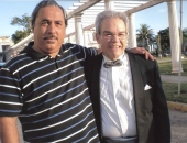 Con Enrique Pérez Mesa, Director de Orquesta cubano. Abril 2008