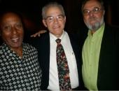El compositor Roberto Valera, Jesús Gómez Cairo, vicepresidente del Instituto Cubano de la Música y director del Museo de la Música de La Habana. La Habana. Febrero de 2009.