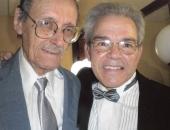 Alfredo Díez Nieto, compositor cubano. Cecilio Tieles, pianista.  La Habana, abril 2009.