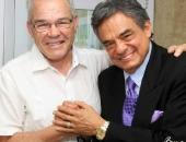 Foto con José José en Miami mayo 2012