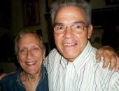 Enrique Pineda Barnet y Cecilio Tieles Ferrer en La Habana. 24 de febrero de 2009.