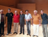 Pierre Réach, Karst De Jong, Cecilio Tieles, Juan Lago, Eduardus Halim, Luiz de Moura, Patrick Zygmanowski. 15 de setiembre de 2013.