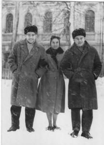 Cecilio Tieles en Moscú 1965