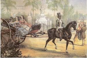 Federico Miahle (1810-1881) - El quitrín